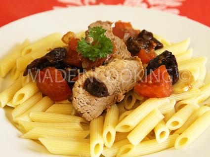 Recette de filet mignon pruneaux provençal