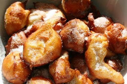 Recette de beignets de pâte à choux
