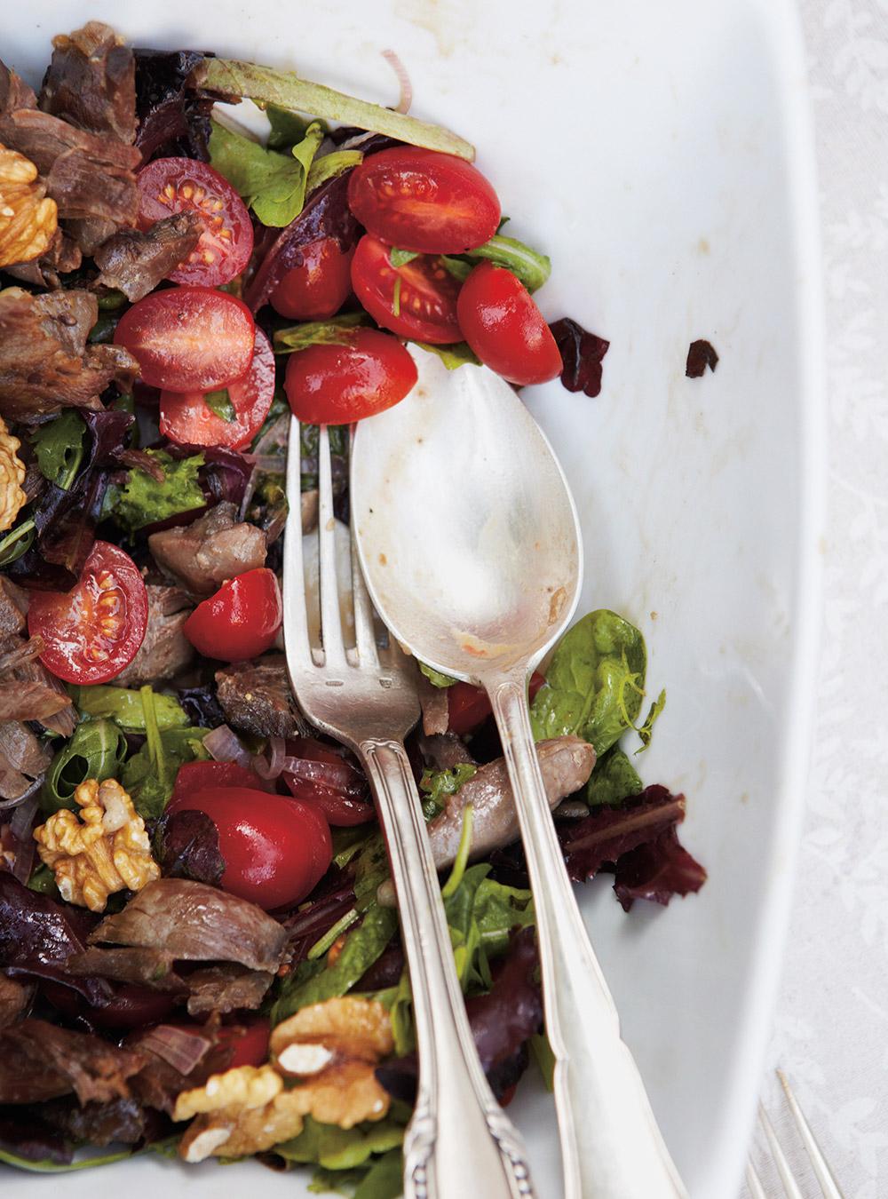 Salade de confit de canard | ricardo