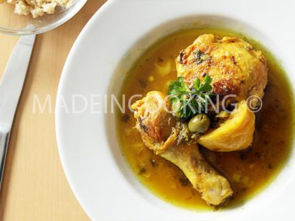 Recette de poulet au citron
