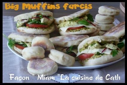 Recette de big muffins anglais farcis