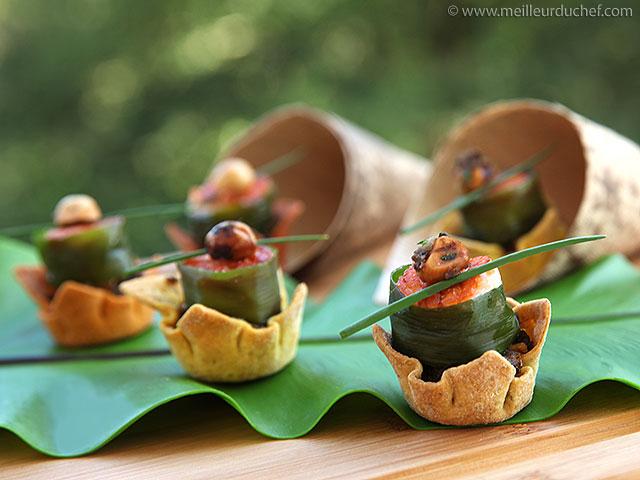 Feuilletés de saumon aux noisettes  recette de cuisine illustrée ...
