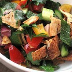 Recette salade fattoush – toutes les recettes allrecipes