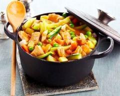 Recette marmite de veau aux petits légumes