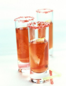 Cocktail bombe à feu à la tequila pour 1 personne