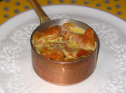 Recette de carottes à la crème, citron et persil