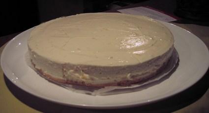 Recette de cheesecake au citron light