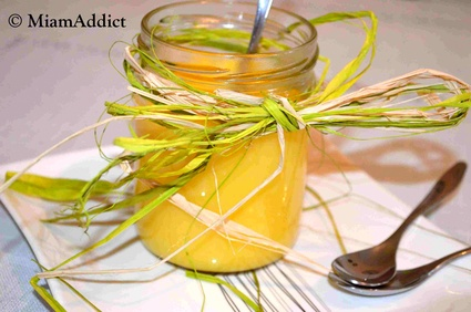 Lemon curd basique