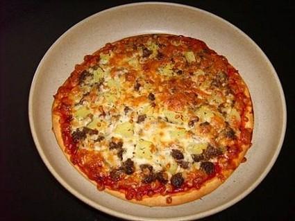 Recette de pizza à la bolognaise