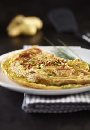 Recette omelette de pommes de terre ratte du touquet