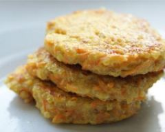 Recette galettes quinoa-carottes aux épices
