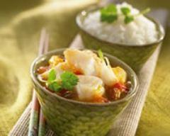 Recette curry de dorade