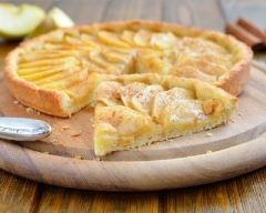 Recette tarte aux pommes à la cannelle