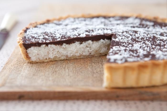 Recette de tarte choco-coco facile et rapide