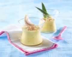 Recette crème aillée et vanillée à l'ananas