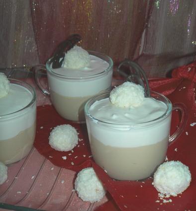 Recette de tiramisu au café et noix de coco