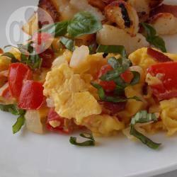 Recette œufs brouillés à l'italienne – toutes les recettes allrecipes