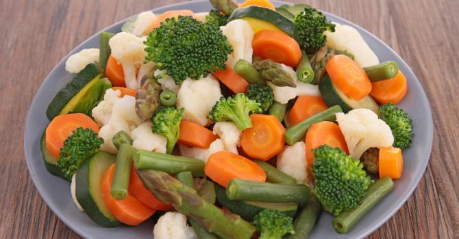 Recette de jardinière de légumes à calories négatives
