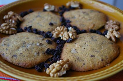 Recette de petits gâteaux aux noix et chocolat