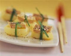 Recette sushis de rattes au foie gras
