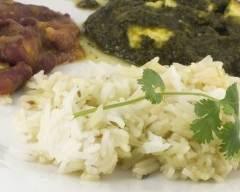 Recette pilaf de riz basmati à la coriandre