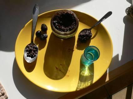 Recette de confiture d'olives noires