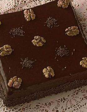 Gâteau au chocolat et aux amandes pour 6 personnes