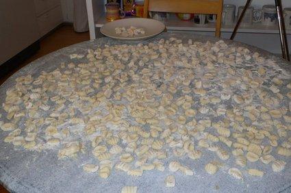 Recette de gnocchi aux pommes de terre