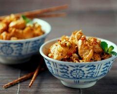 Recette aiguillettes de poulet à la sauce ail et fines herbes