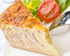 Recette quiche express sans pâte jambon fromage