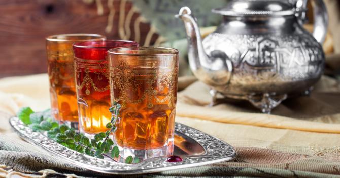 Recette de thé marocain à la menthe