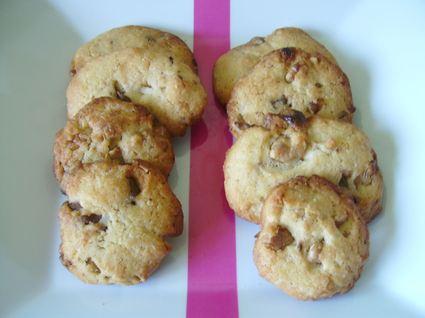 Recette de cookies délice aux deux chocolats