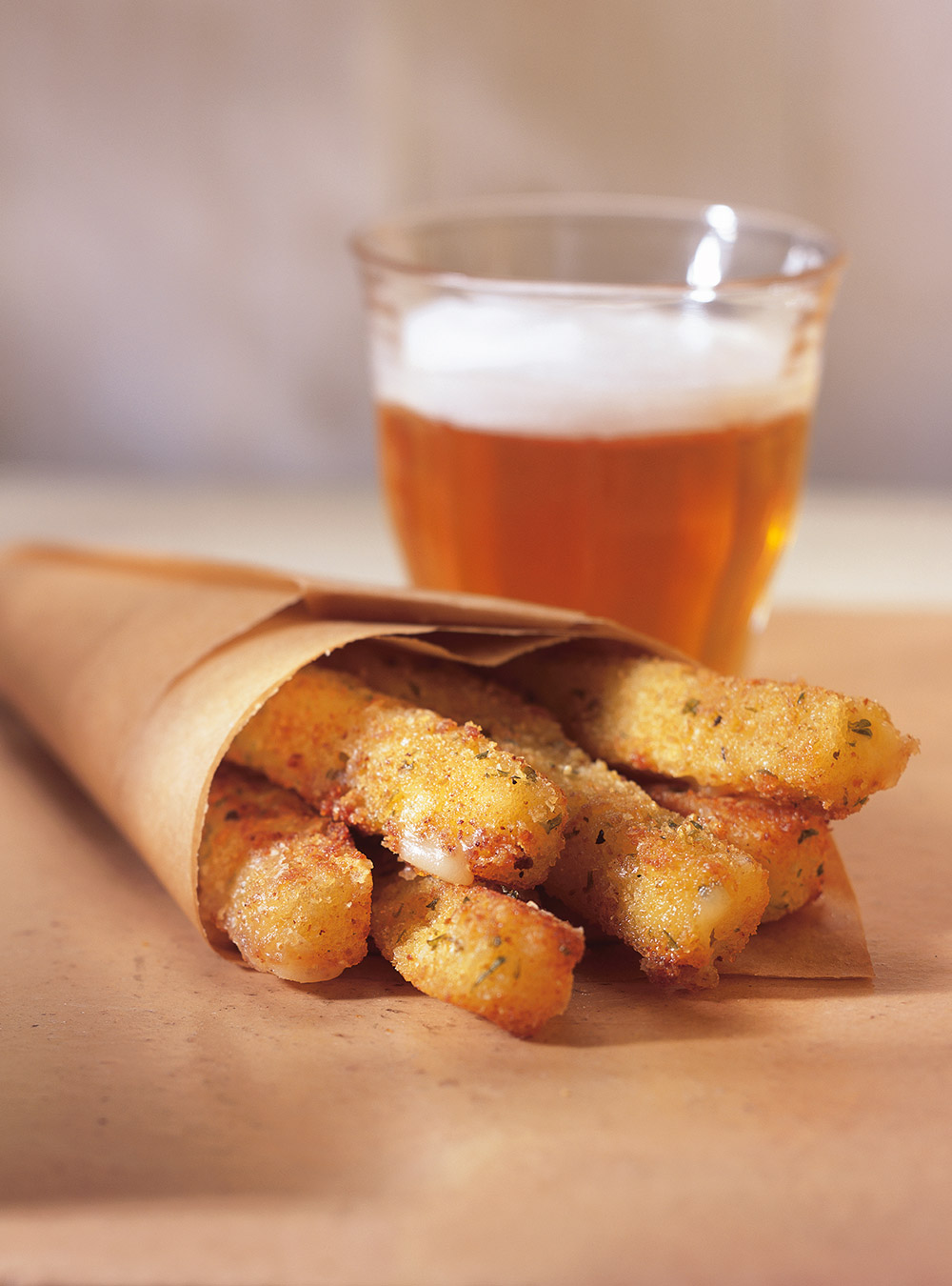 « frites » de mozzarella | ricardo