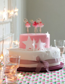 Gâteau anniversaire princesse pour 12 personnes