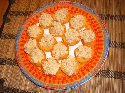 Recette abricots au thon