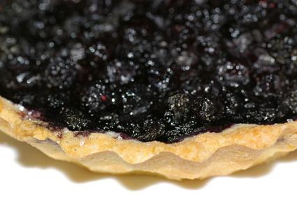 Recette de tarte aux myrtilles et spéculoos