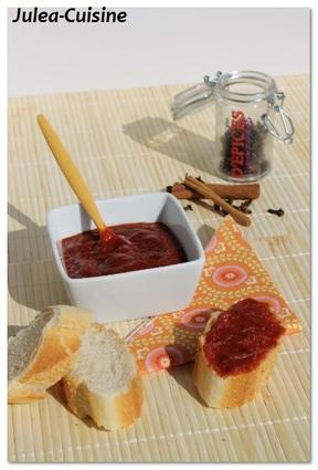 Recette de chutney de tomates épicé
