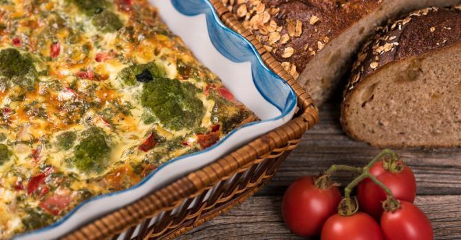 Recette de gratin léger de légumes printaniers