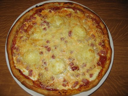 Recette de tarte tomate/jambon/chèvre