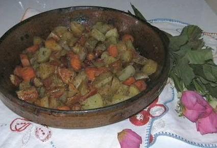 Recette de mélimélo de légumes au chorizo
