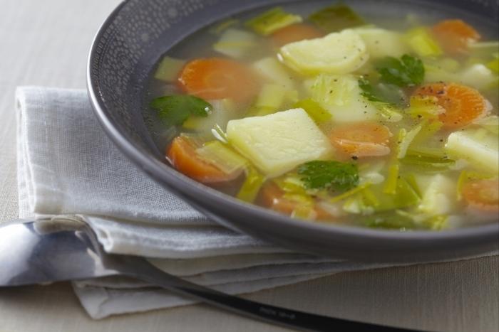 Recette de soupe de légumes facile et rapide