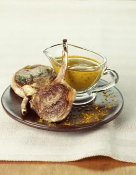 Côtes de porc au citron et aux câpres