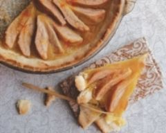 Recette tarte aux poires et safran