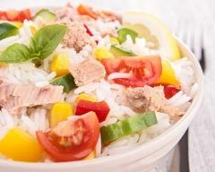 Recette salade de riz au thon d'isabelle