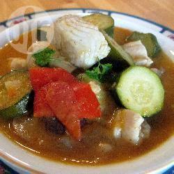 Recette soupe de poisson aux légumes variés – toutes les recettes ...