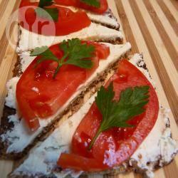 Recette tartines de pain noir à la tomate – toutes les recettes ...