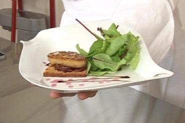 Recette de foie gras sur pain d'épice, confit d'oignon rouge à la ...