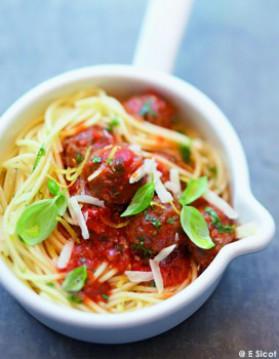 Spaghettis à la bolognaise express pour 4 personnes