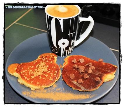 Recette de pancakes selon mickey