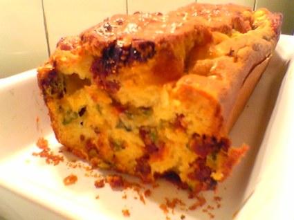 Recette de cake aux tomates séchées & mozzarella